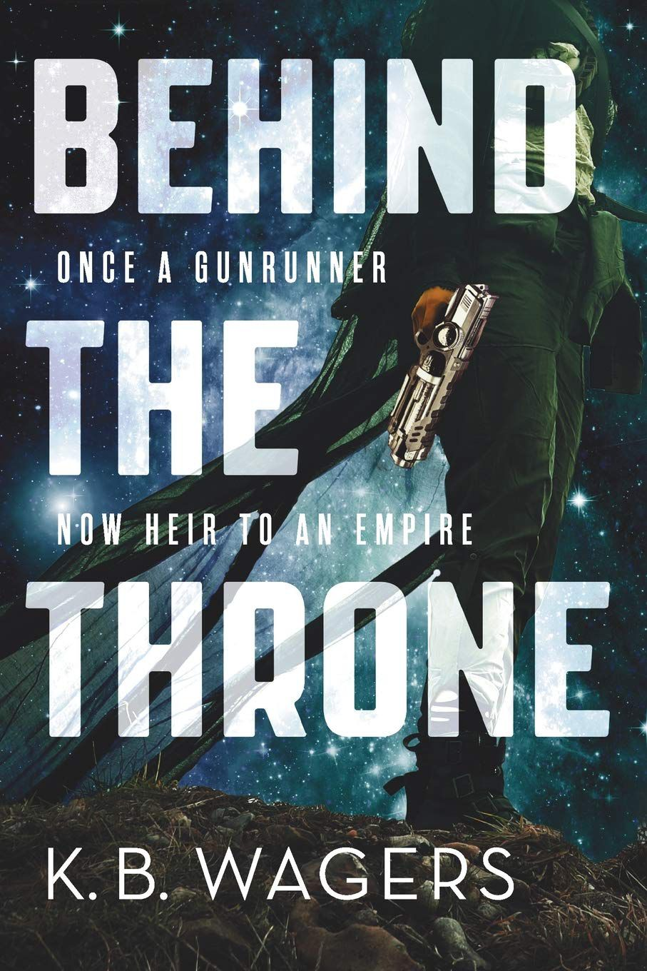 Behind the Throne by K.B. Wagers  book cover