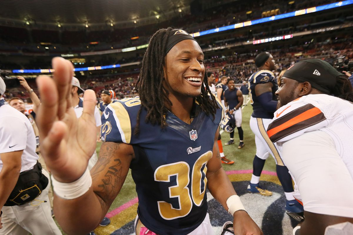 Cleveland Browns at St. Louis Rams