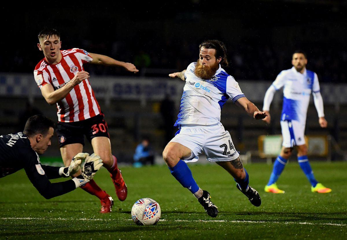 Bristol Rovers v Sunderland - Checkatrade Trophy Semi Final