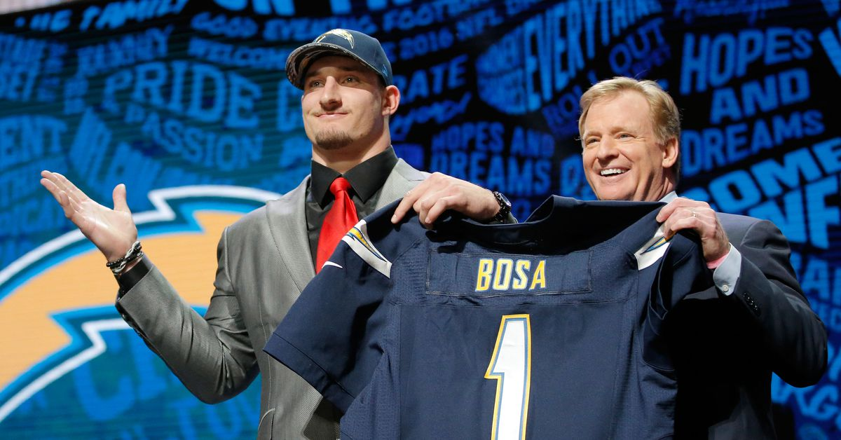 Looking back at the day the Chargers shocked everyone with the Joey Bosa pick