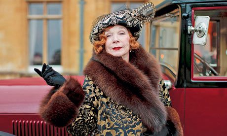 """Shirley MacLaine played Martha Levinson, mother of Cora, on the Masterpiece series """"Downton Abbey."""""""