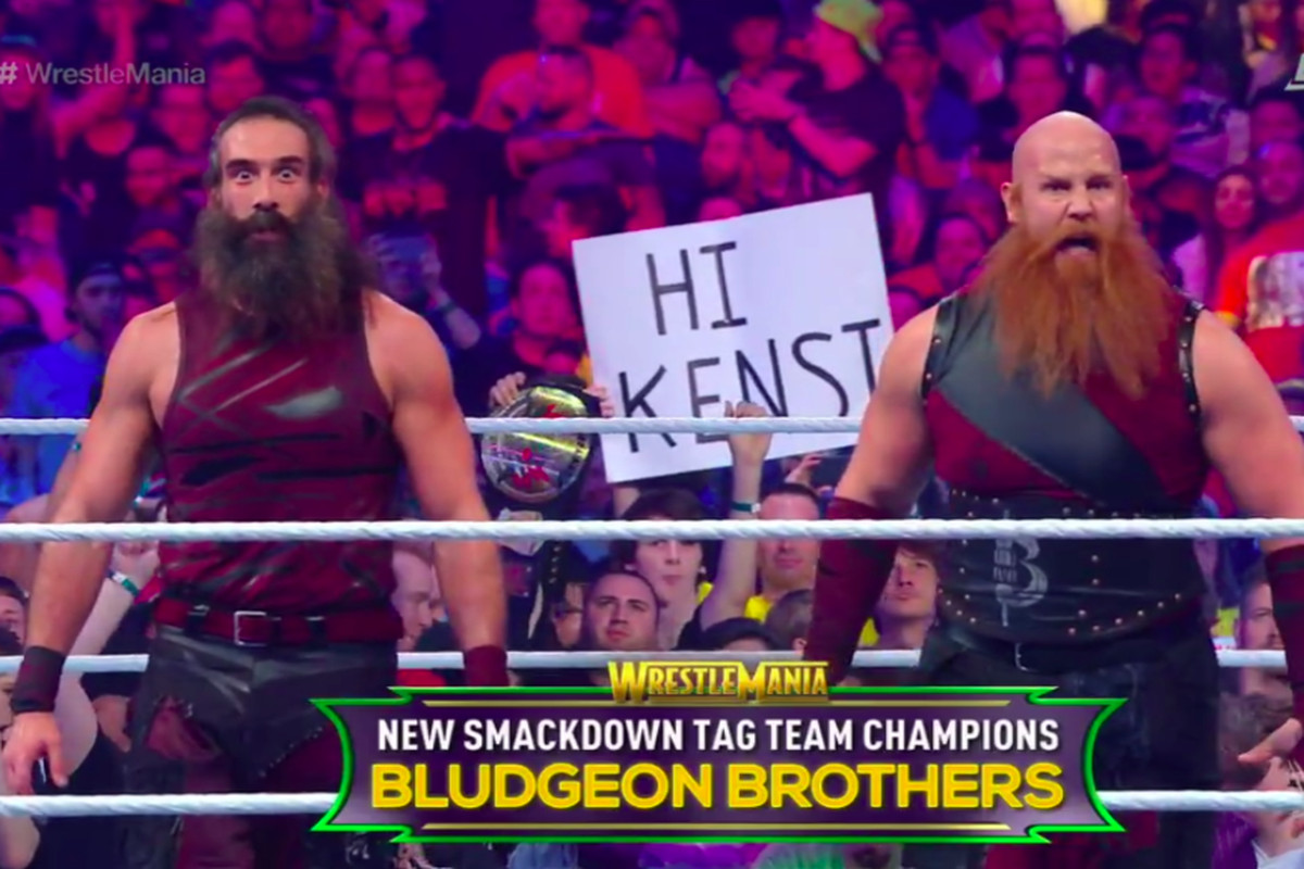 Bludgeon Brothers Win Smackdown Tag Team Titles At WrestleMania
