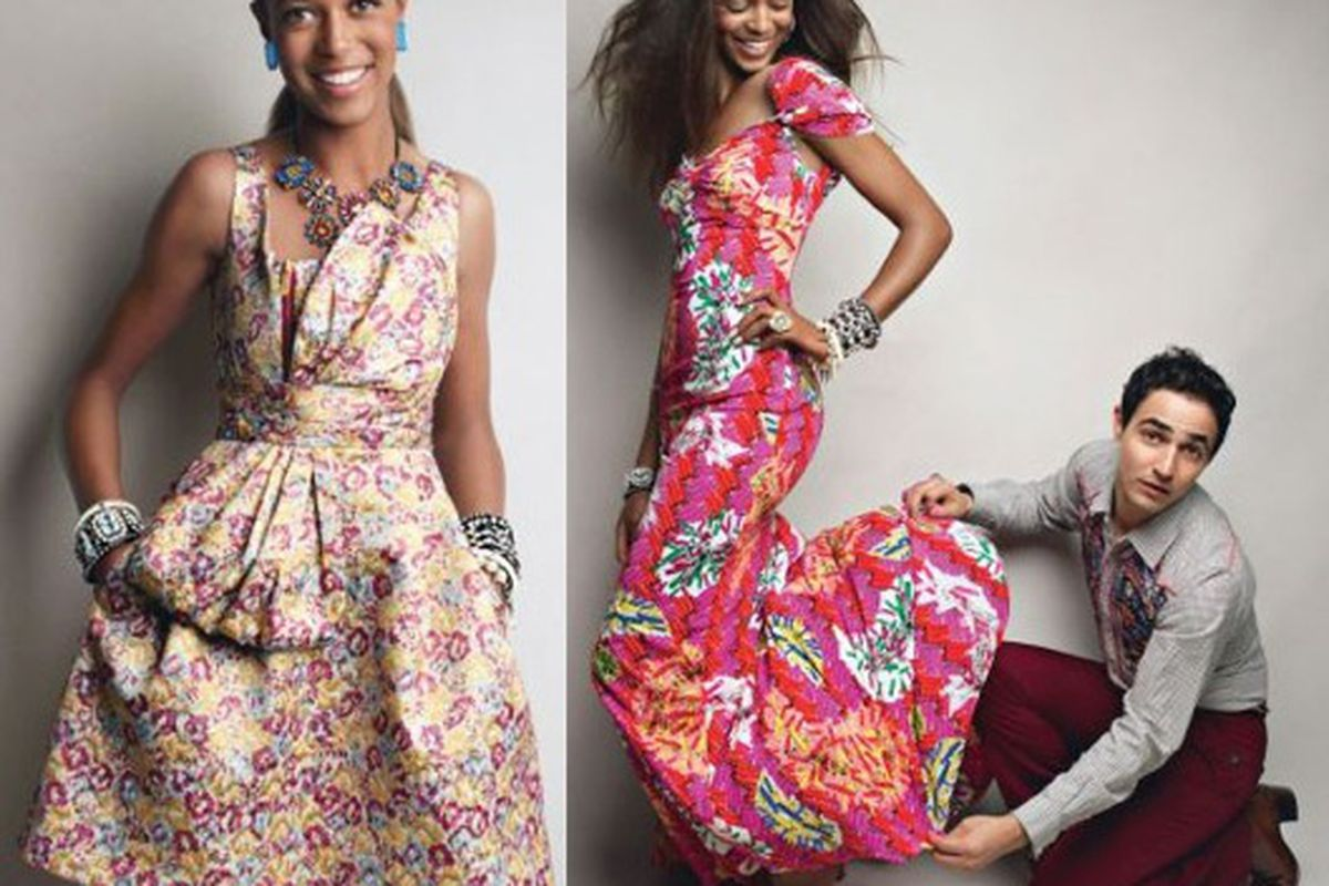 """Target just can't get enough of the florals. Image via <a href=""""http://www.nitrolicious.com/blog/2010/03/16/zac-posen-for-target-sneak-peek/"""">Nitrolicious</a>."""