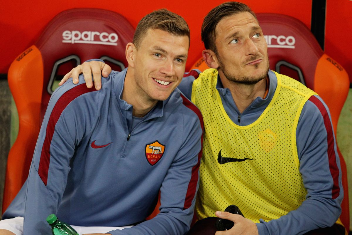 Edin Dzeko has struggled to find the back of the net consistently at Roma this season