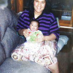 Photo of Patrick Palau and his mother Viola.