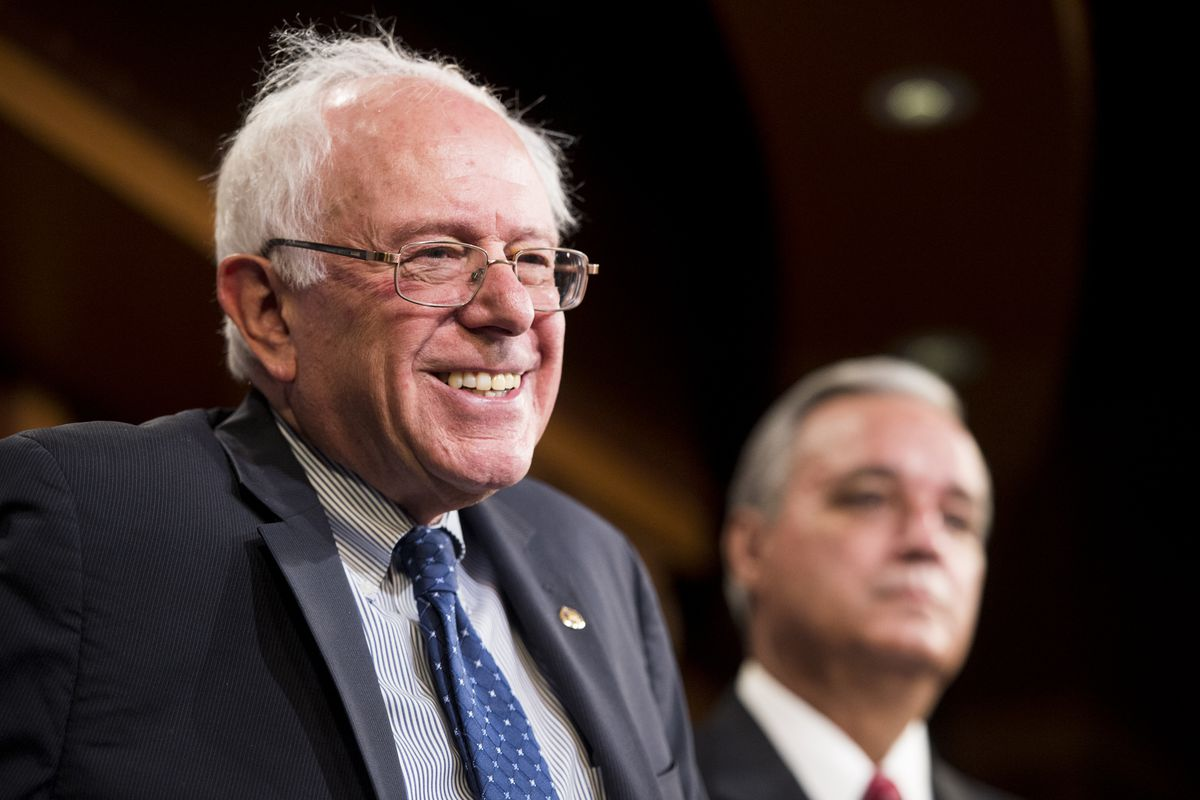 Bernie Sanders has a lot to smile about in this new poll.