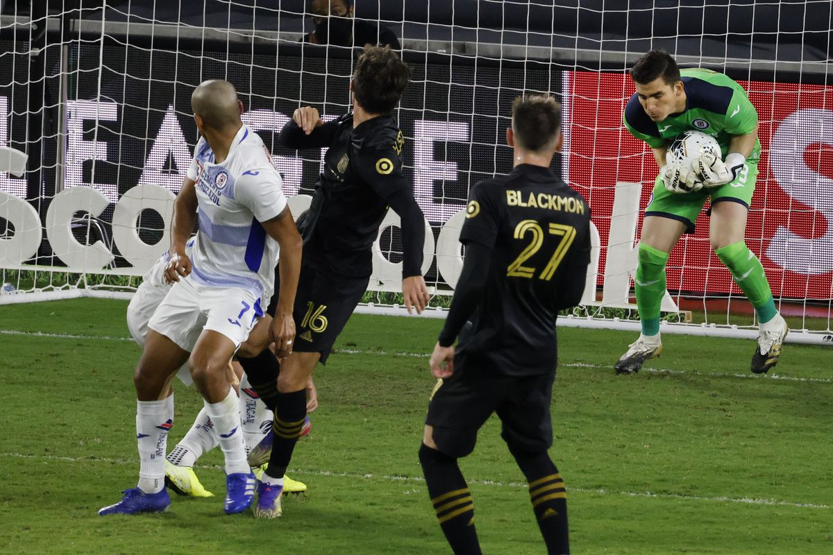 Soccer: 2020 Scotiabank Concacf Champions League - Quarterfinals-Los Angeles FC at Cruz Azul