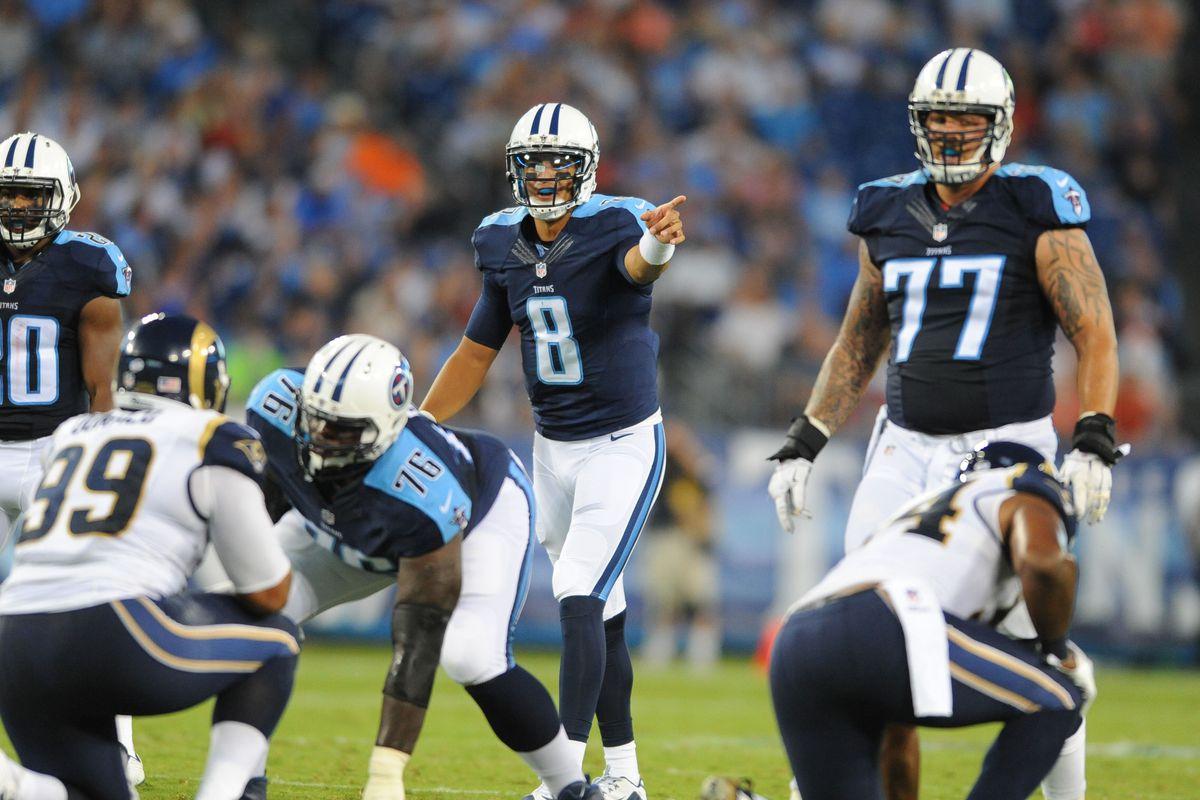 NFL: Preseason-St. Louis Rams at Tennessee Titans
