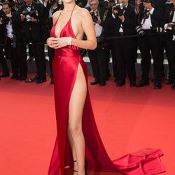 Never forget: Bella in that red dress at Cannes.