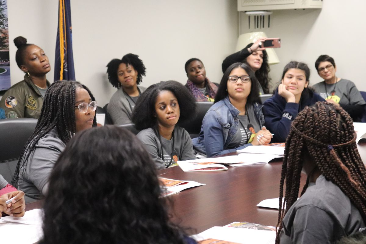 Members of Girls for Gender Equity have lobbied for better treatment under the justice system.
