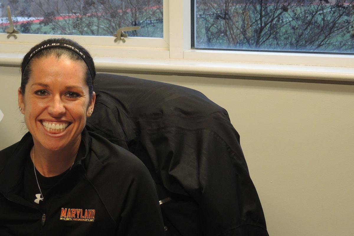 Courtney Scott-Deifel in better days at Maryland