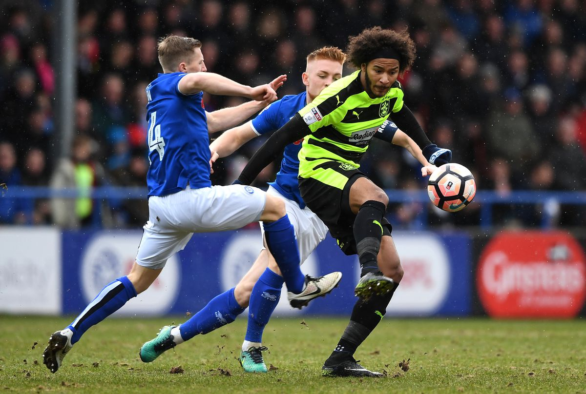 Rochdale v Huddersfield Town - The Emirates FA Cup Fourth Round
