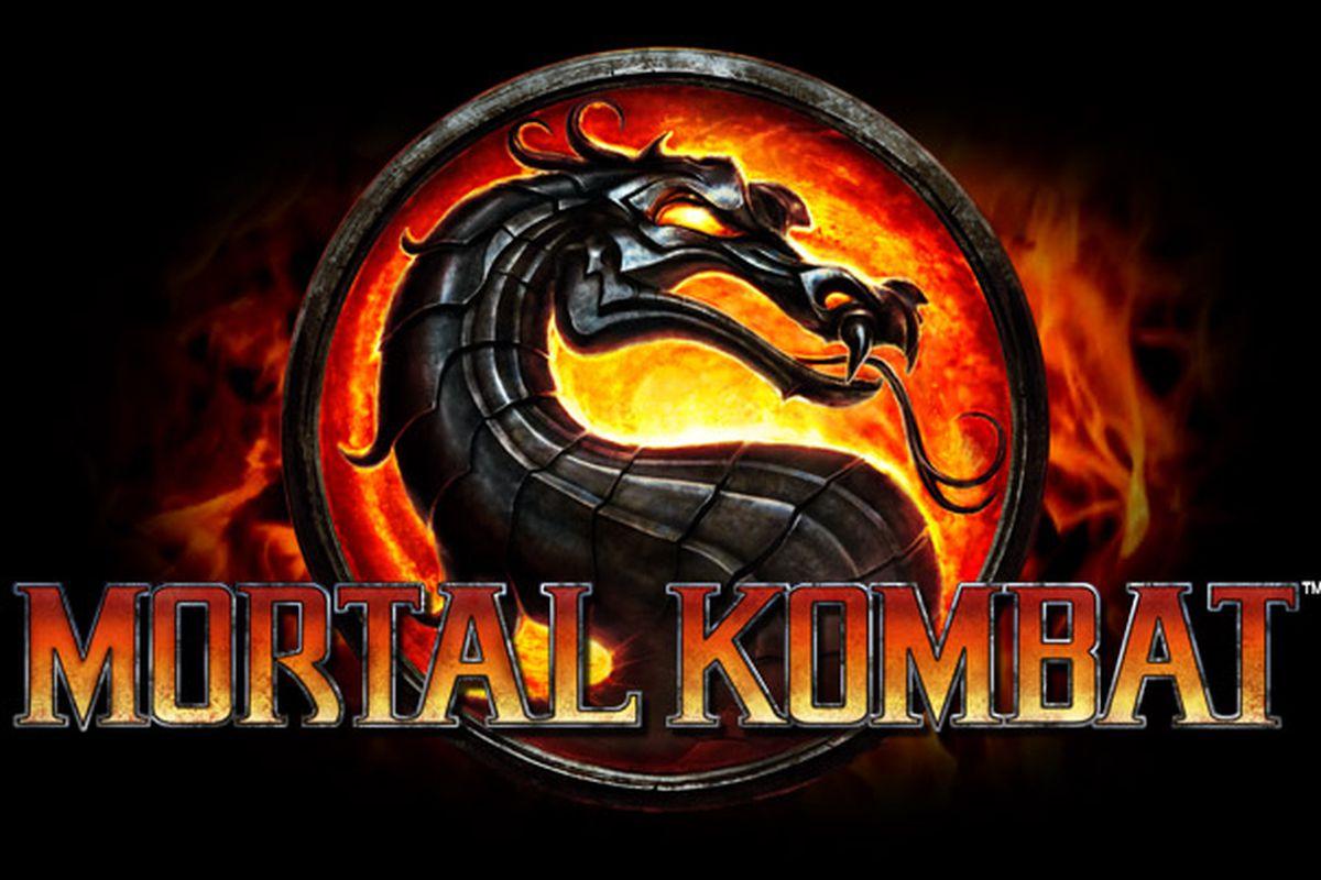Image result for mortal kombat logo