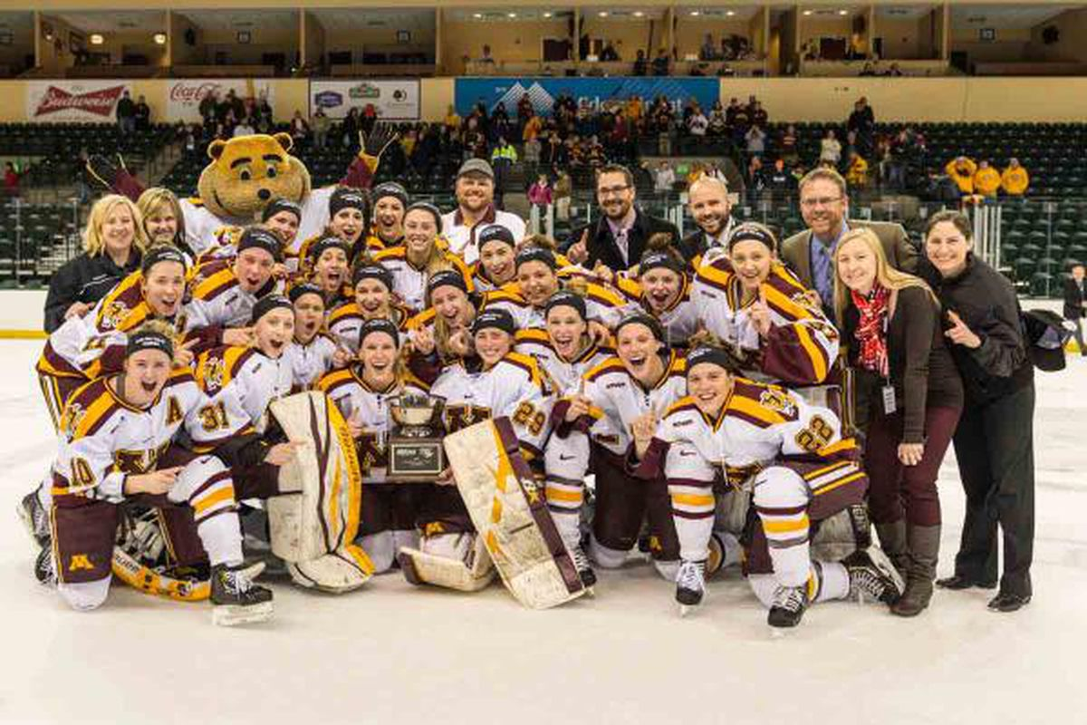 Your 2014 WCHA Final Face-off Champions