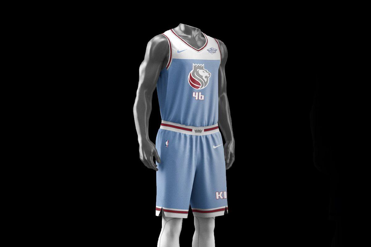 """d3a8bc32e Sacramento Kings officially unveil their Nike """"City"""" jerseys ..."""