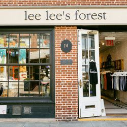 """<b>↑</b><b> <a href=""""http://www.leeleesforest.squarespace.com/"""">Lee Lee's Forest</a></b> (14 Fulton Street) is one of downtown's best kept secrets for wardrobe staples with clever twists. You'll find flattering, feminine dresses with cute graphic prints,"""