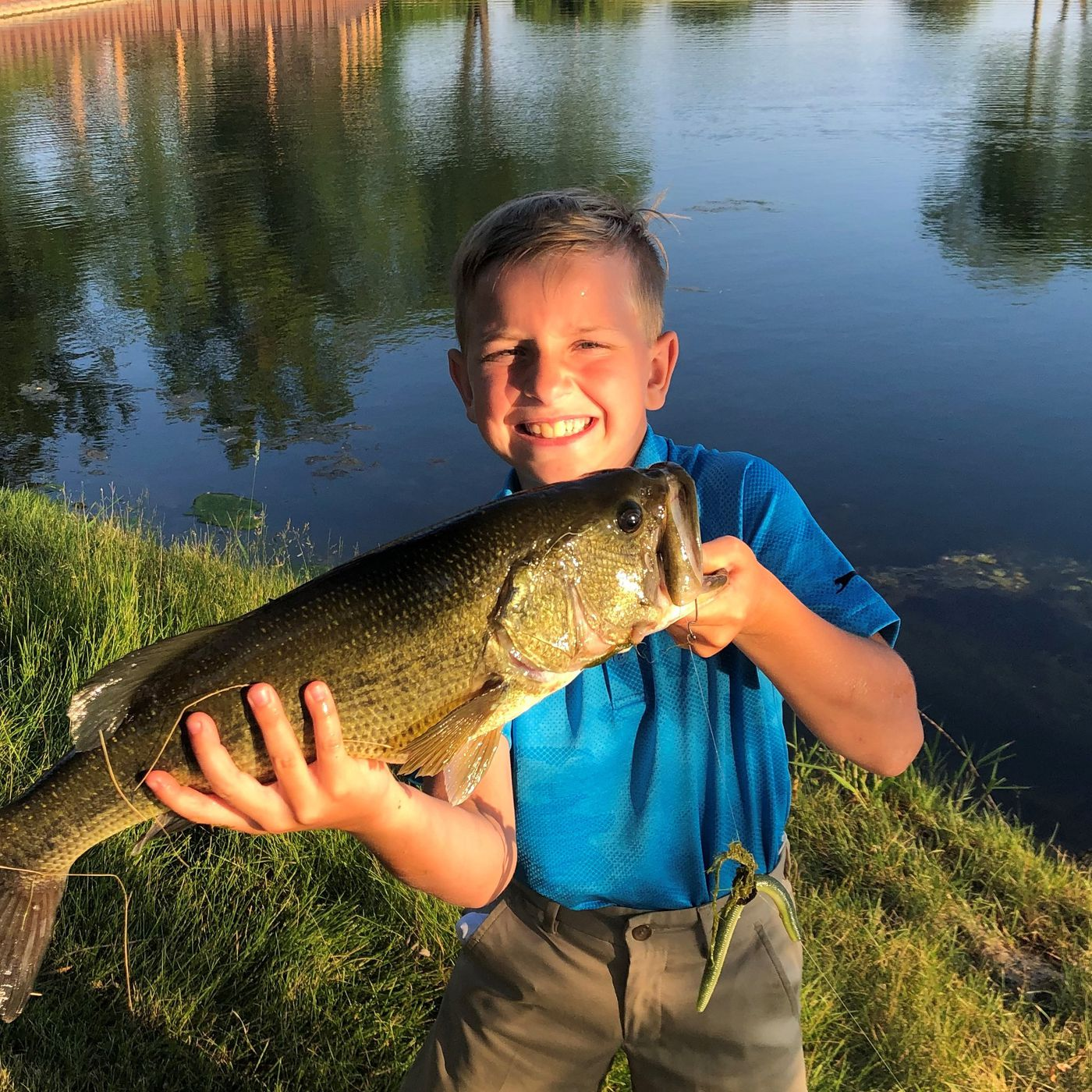 Brandon Stawik At Kemper Lakes And Brianna Snyder On The Kankakee River Both Earned Fish Of The Week Honors Chicago Sun Times
