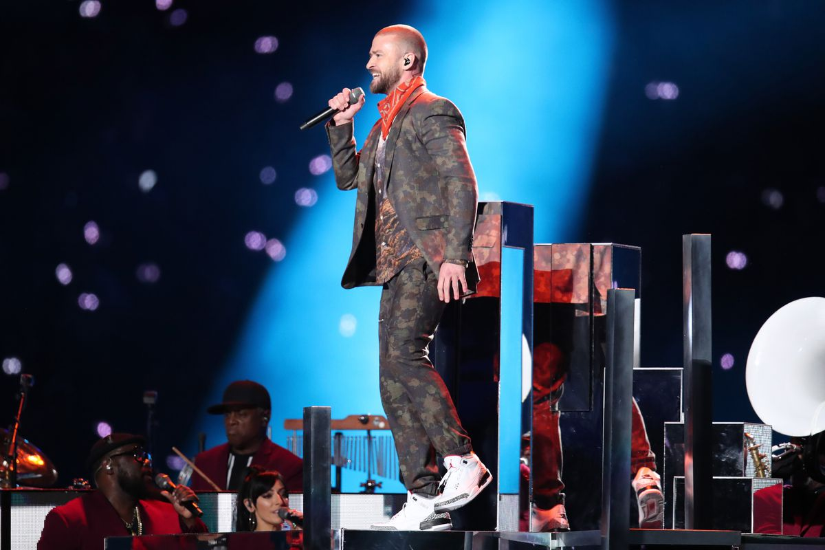 762533a4809 Super Bowl 2018  Justin Timberlake s halftime show was a sonic mess ...