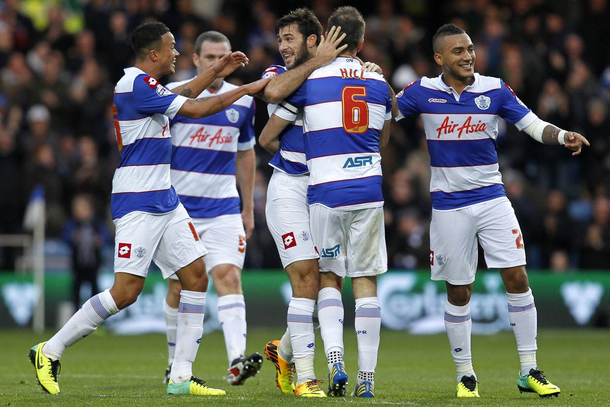 QPR are now joint top of the Championship