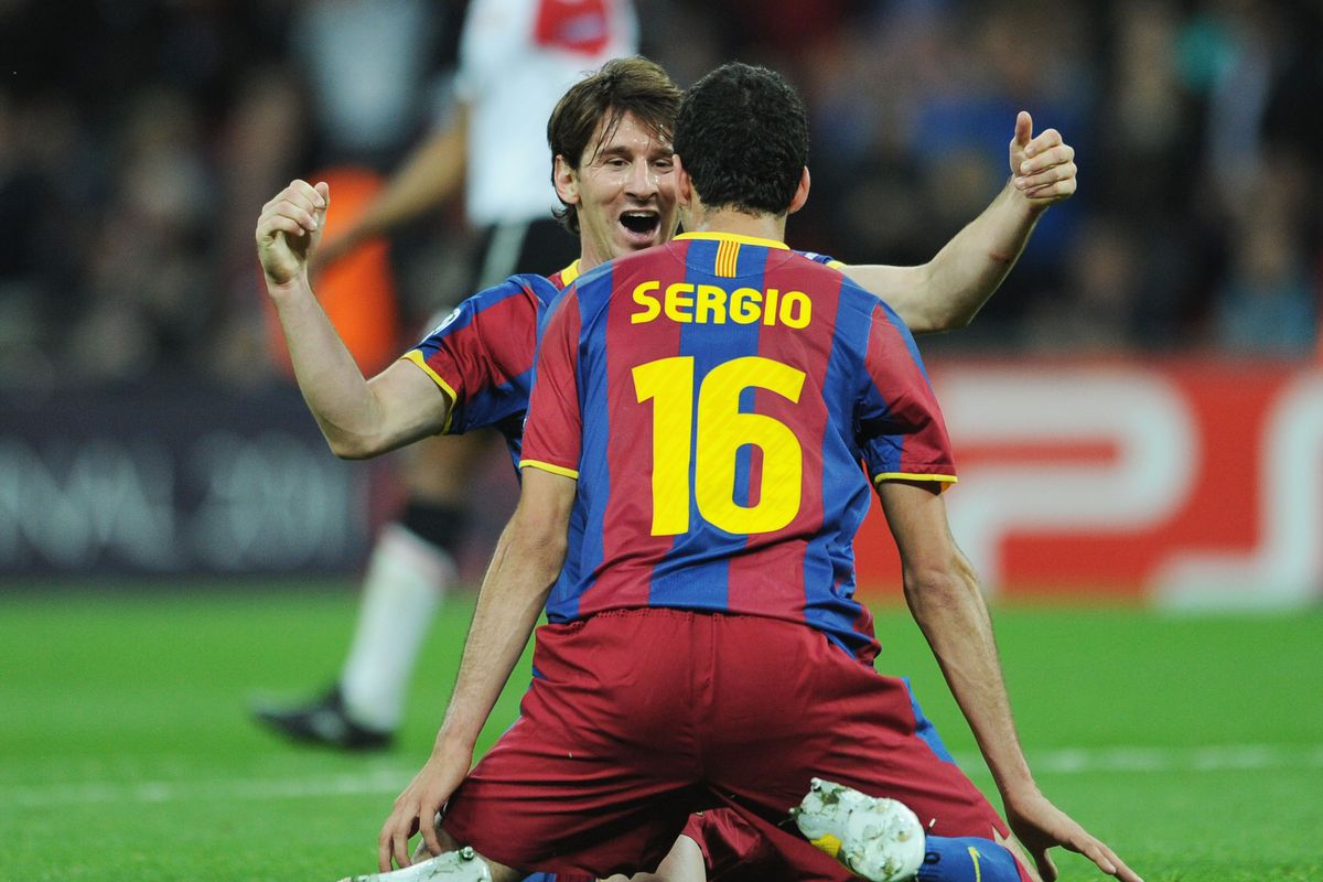 Sergio Busquets I Ve Always Wanted To Play At Old Trafford Barca