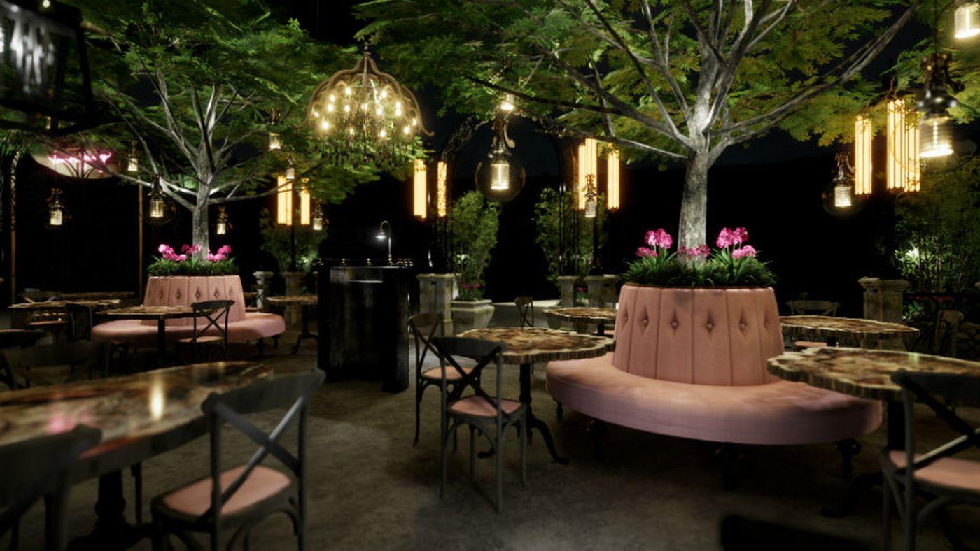 Vanderpump Cocktail Garden Is Now Open In Las Vegas Eater Vegas