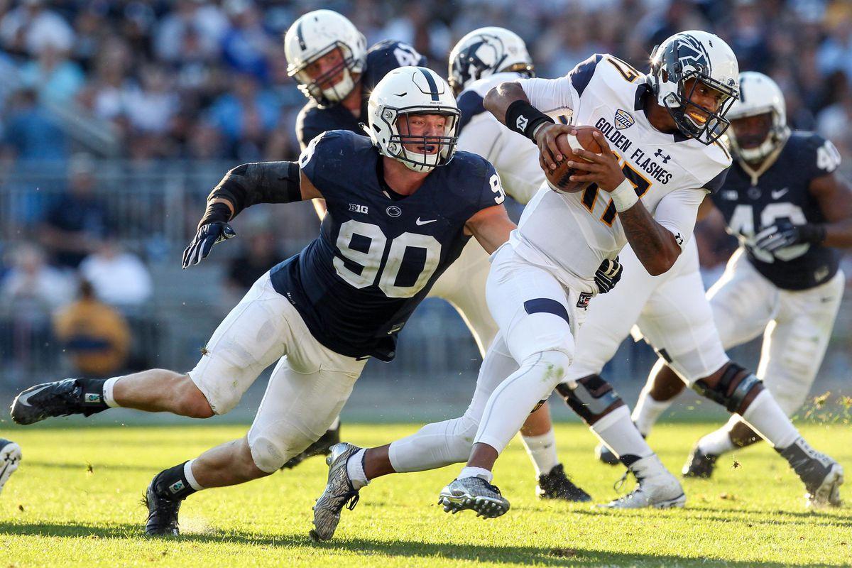 NCAA Football: Kent State at Penn State