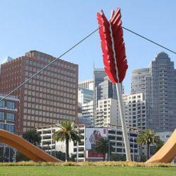 "Cupid strikes again in San Francisco. <i>Image via <a href=""http://en.wikipedia.org/wiki/File:Cupid's_Span.jpg"">Wikipedia</a></i>"