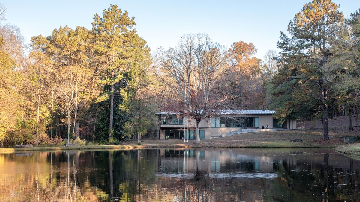 Smitharcs Blue Dog Residence Embraces Nature In North Carolina Curbed