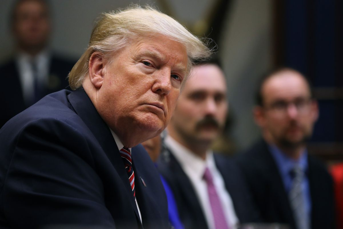 President Donald Trump Holds Small Business Roundtable Discussion At The White House