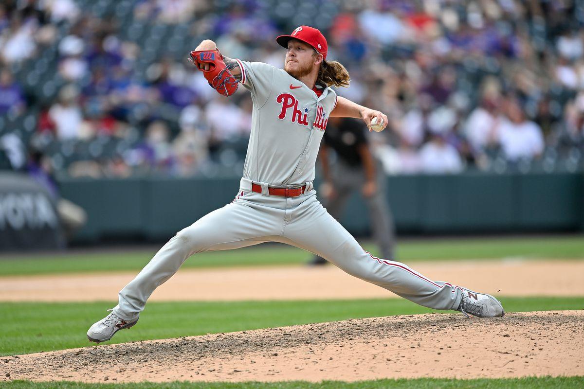 MLB: APR 25 Phillies at Rockies