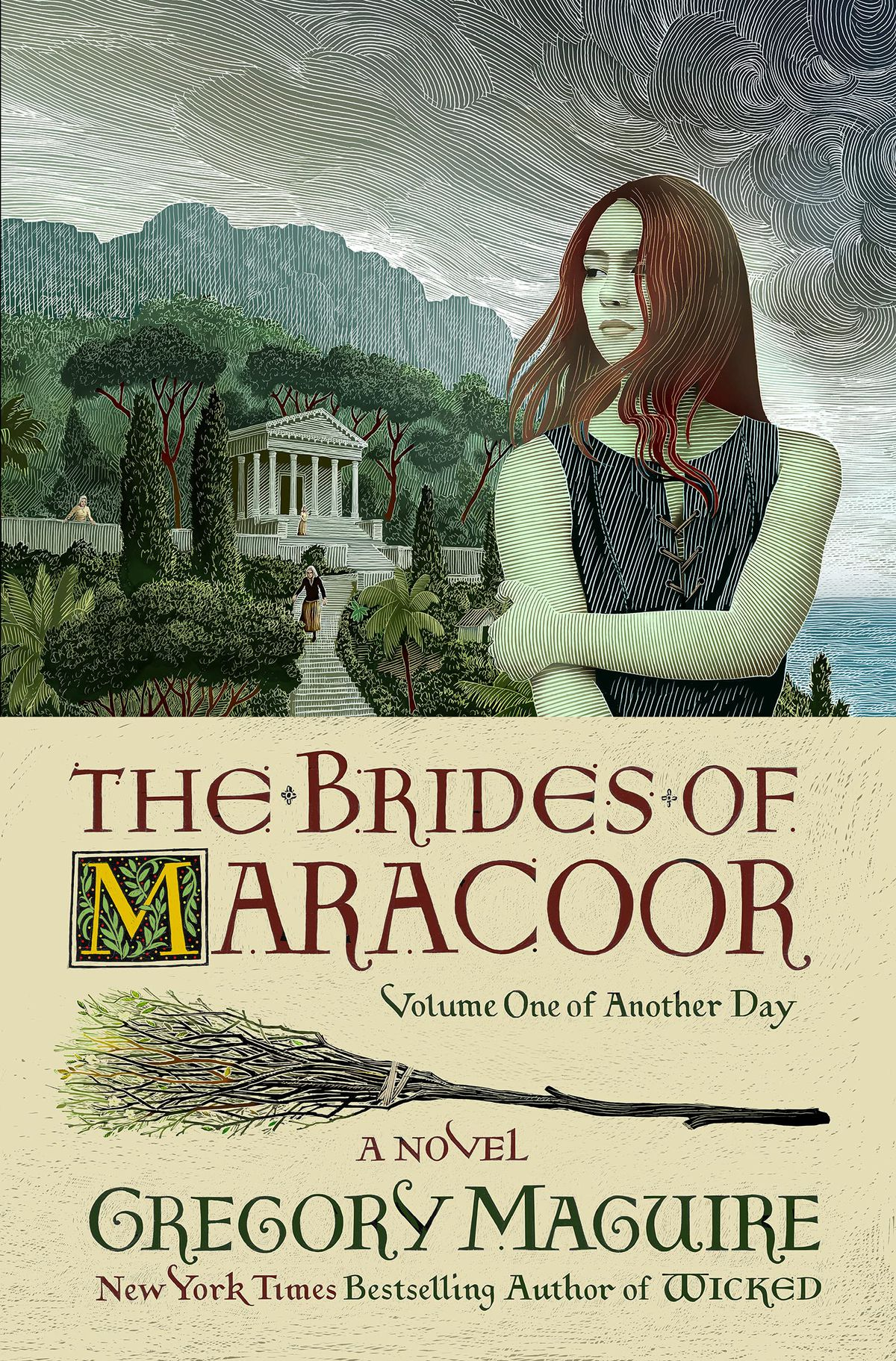 The Brides of Maracoor cover featuring a teen Elphaba