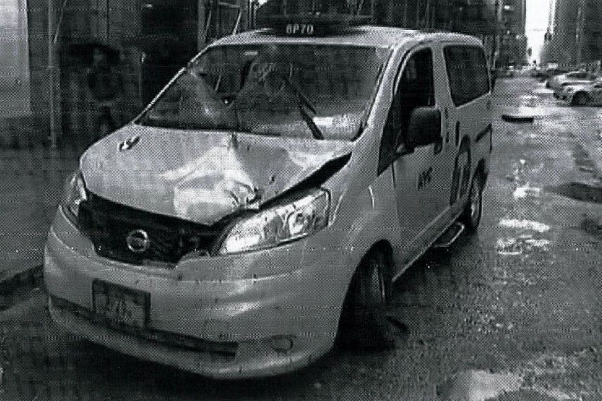 Manhole explosion accident