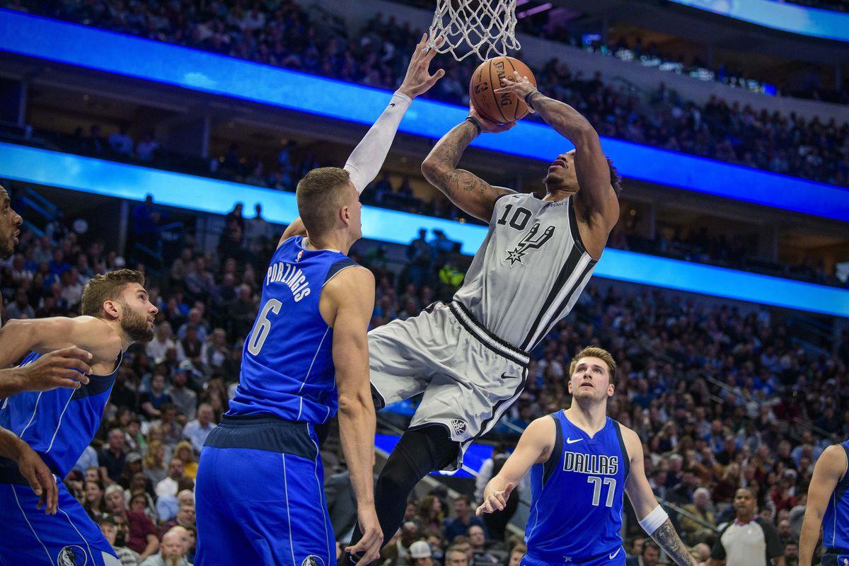 San Antonio at Dallas, Final Score: Mavericks hold off Spurs' furious comeback, 117 - 110