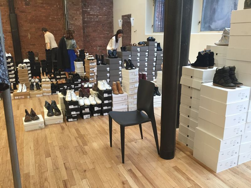 La Garconne's Amazing Warehouse Sale Is the First Sign of Fall ...