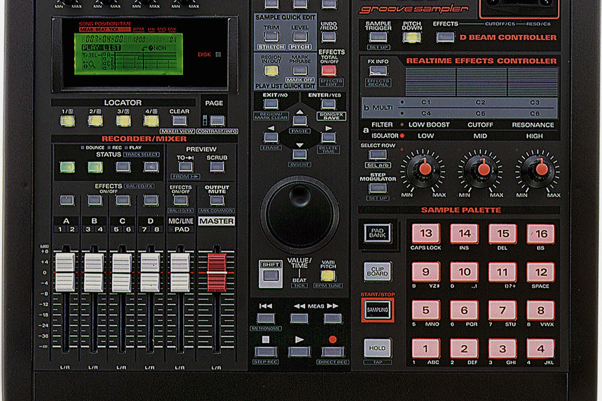 The Classics: Roland SP-808 Groove Sampler | The Verge