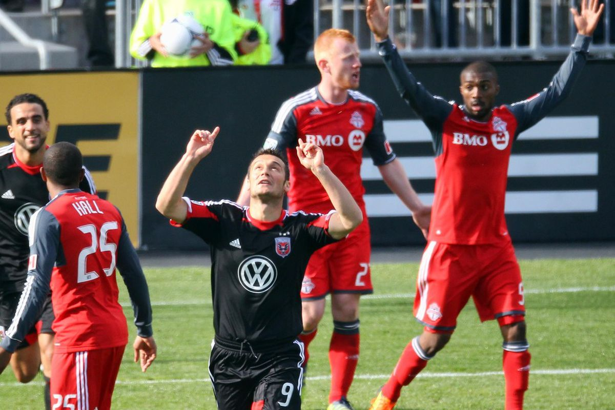 Hamdi Salihi has scored once against Toronto FC already this year. Can he do it again? (Hint: Yes)