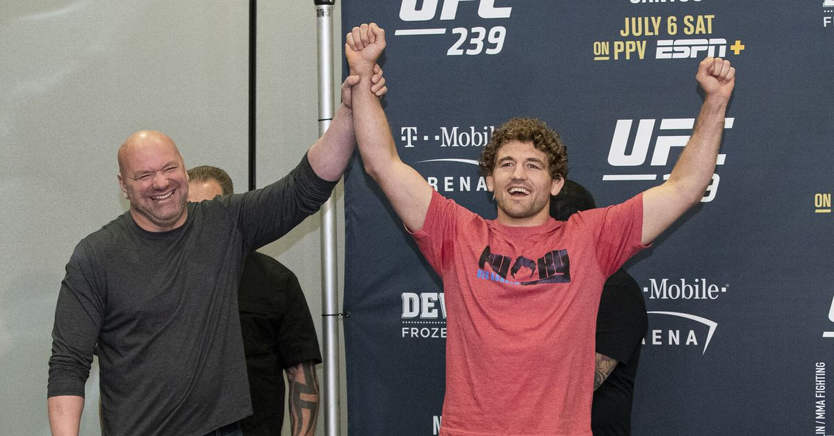 Ben Askren never reached pinnacle of UFC, but his impact was undeniable - MMA Fighting
