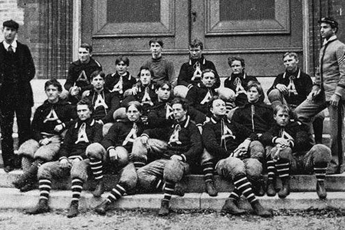 Alabama's 1895 football team.