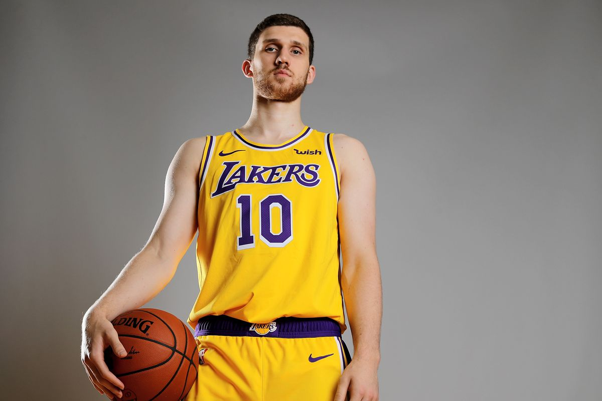 311e36738daf Lakers News  Svi Mykhailiuk voted second-best shooter in NBA Rookie ...