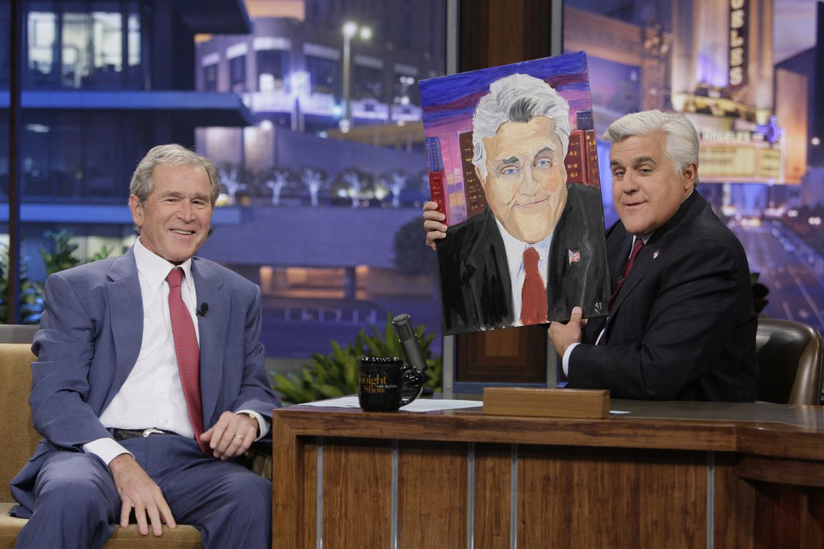 Whether or not he makes any money from his paintings, Bush (like other ex-presidents) is taken care of financially.
