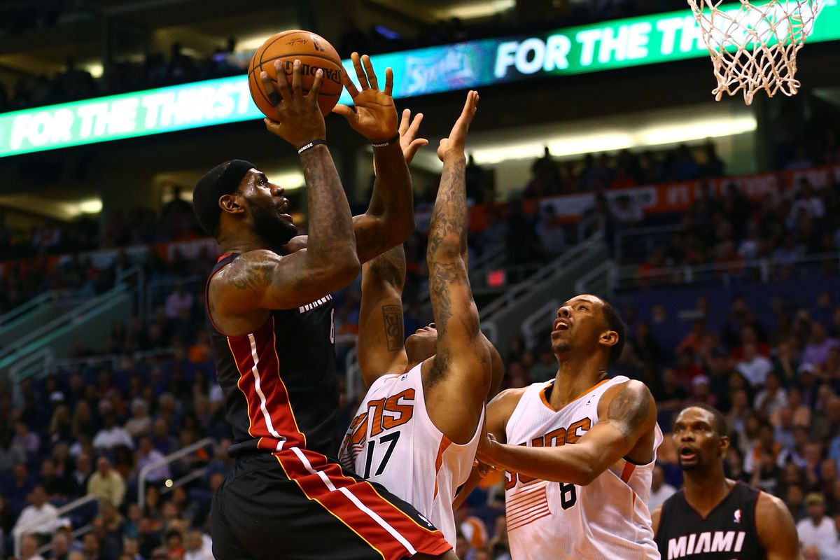 Final Score Phoenix Suns 97 Miami Heat 103 This Was Lebron S Game Bright Side Of The Sun