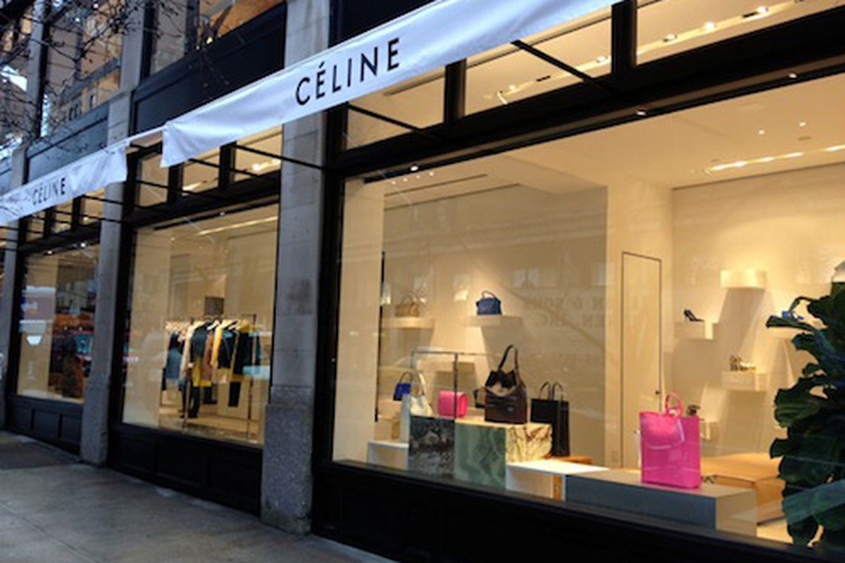 "The Madison Avenue boutique; Photo via <a href=""http://nitrolicious.com/2012/01/27/celine-madison-nyc-store-finally-opened/"">Nitrolicious</a>"