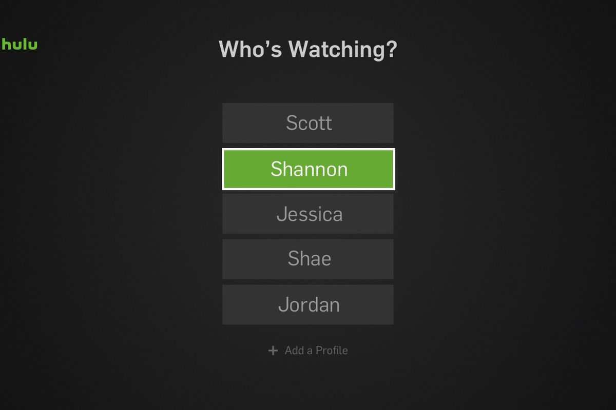Hulu Will Now Let You Create Profiles For Up To Six People The Verge