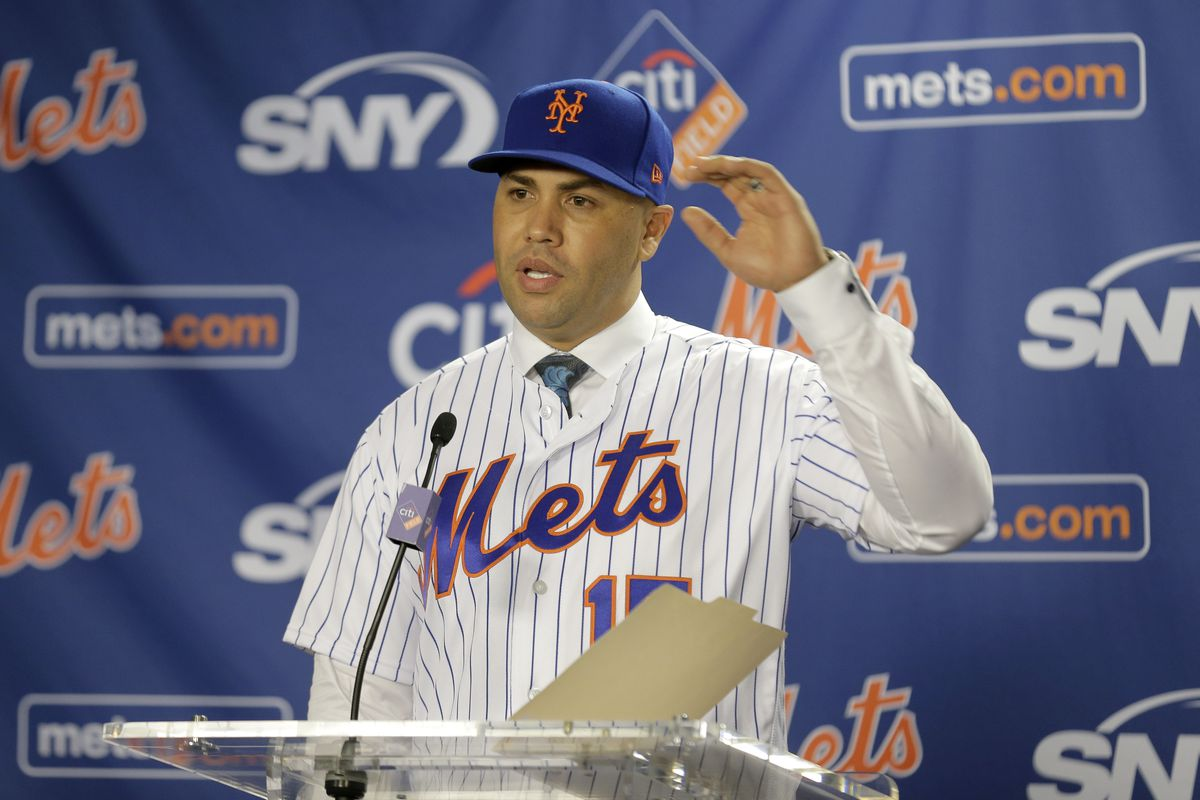 Carlos Beltran, who was introduced as the new manager of the Mets last November, has been fired by the team.