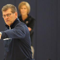 USA Women's Basketball Coach Geno Auriemma