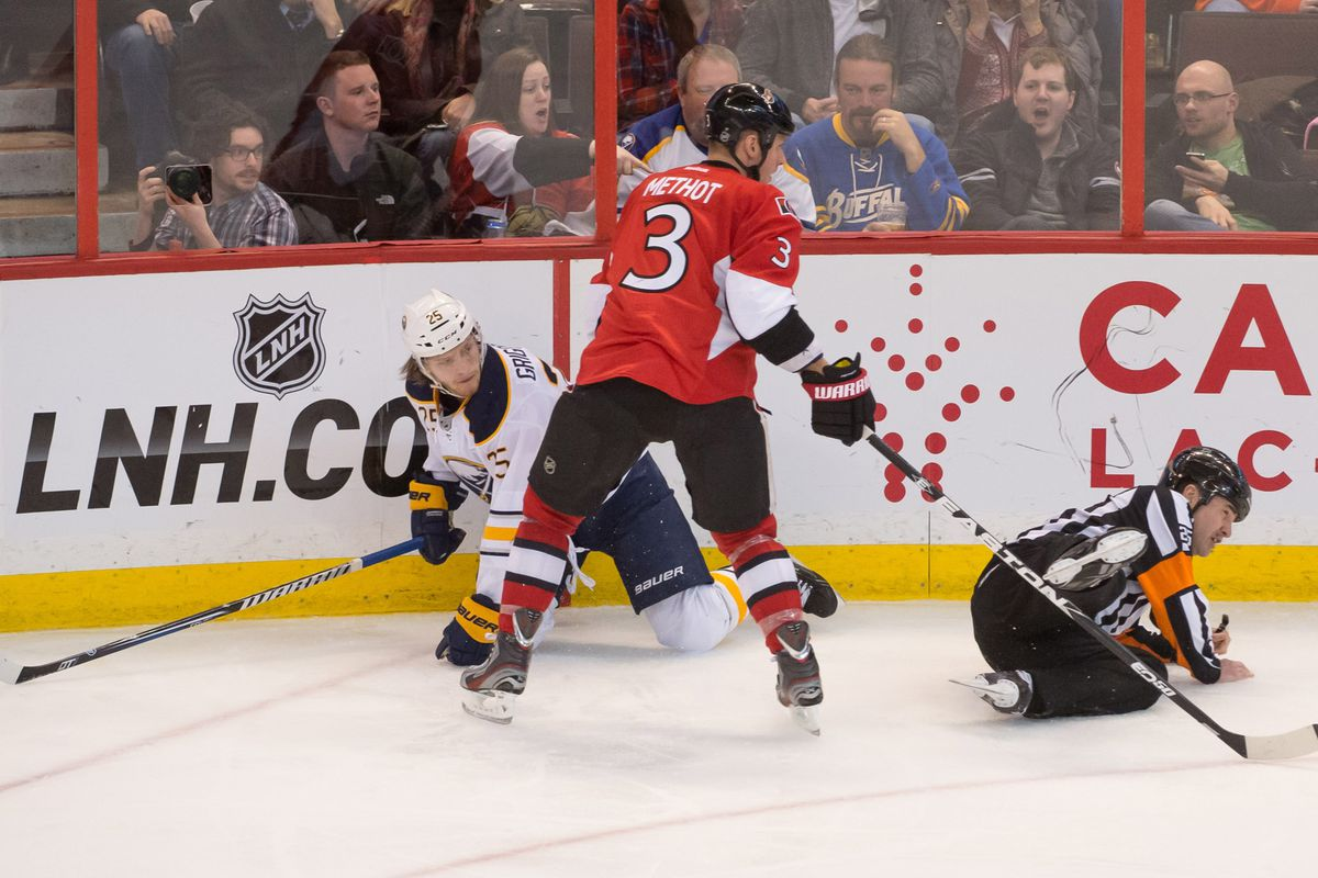 Marc Methot will lay out anyone.