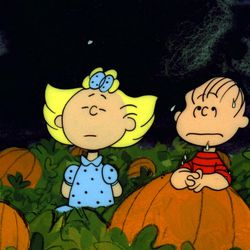 """Sally and Linus in """"It's the Great Pumpkin, Charlie Brown."""""""