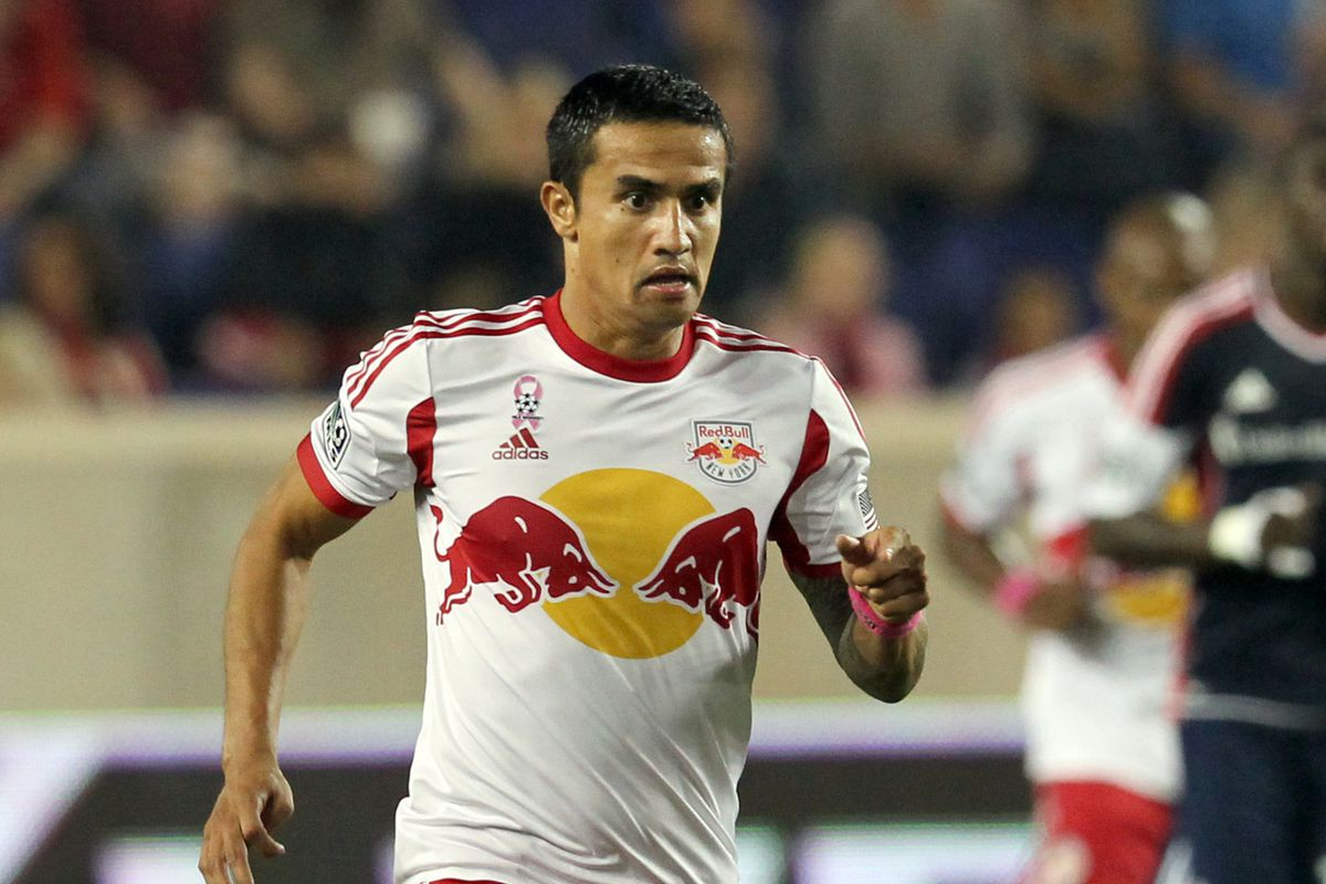 New York attacking midfielder Tim Cahill will look to have more success with the New York Red Bulls in 2014