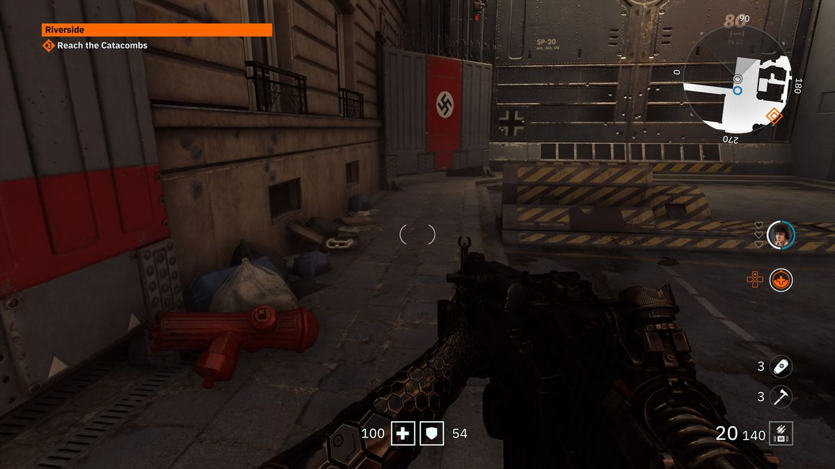 Wolfenstein Youngblood 3D Glasses 1 location