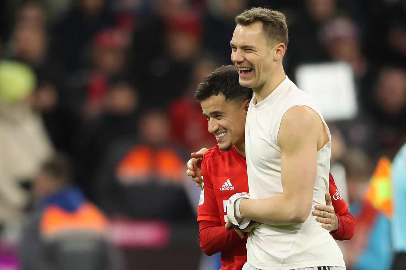 Manuel Neuer says Philippe Coutinho can be the solution to Barcelona?s problems